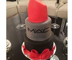 mac, cake, and red image