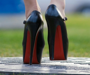 details, fashion, and heels image