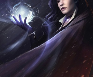 fantasy, witch, and the witcher image