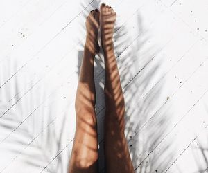 summer, legs, and white image