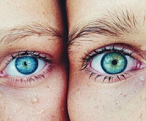 eyes, blue, and beautiful image