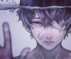 anime, fan art, and gore image