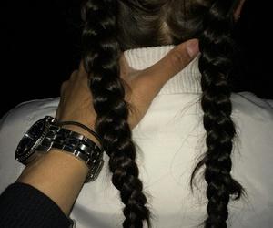 braid, boy, and couple image