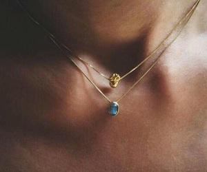 blue, neck, and fashion world image