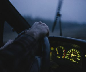 dark, car, and grunge image