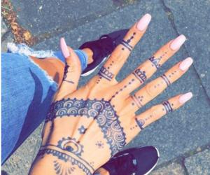 nails, girl, and girly image