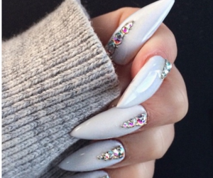 goals, nail art, and nails image