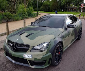 camo, cars, and mercedes image