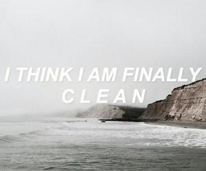 clean, indie, and Lyrics image