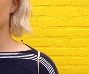 indie, yellow, and aesthetic image