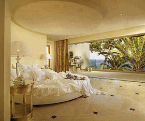 luxury, room, and bedroom image