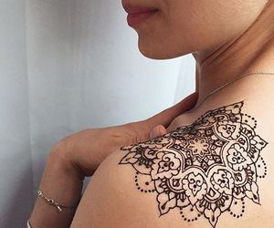tattoo, henna, and cool image