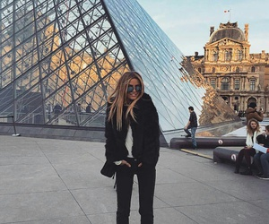 fashion, france, and paris image