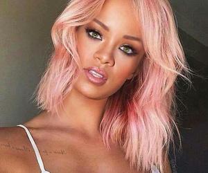 hair, pink, and rihanna image