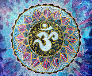 Mantra, om, and peace image