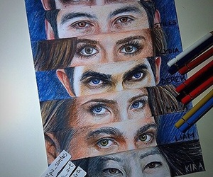 teen wolf, derek, and kira image