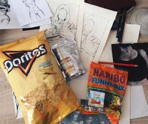 art, body, and candy image
