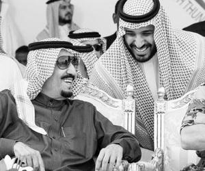saudi arabia, saudi, and king salman image