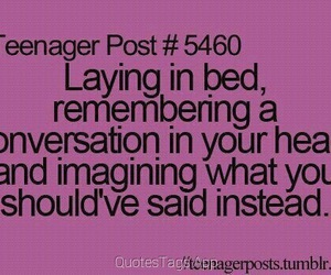teenager post, conversation, and text image