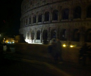 colloseum, italy, and people image