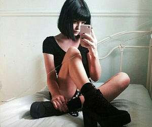girl, gothic, and tumblrr image