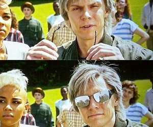 quicksilver, xmen, and evanpeters image