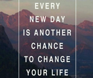 chance, change, and day image