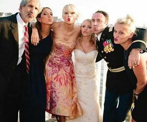 Taylor Swift and wedding image