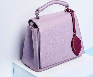 bag, pink, and glam image
