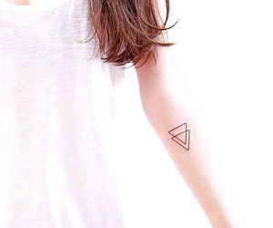 tattoo and triangle image
