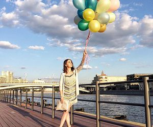 balloons, summer, and blogger image
