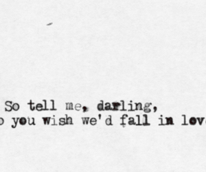 darling, text, and wish image