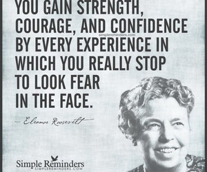 beautiful, confidence, and eleanor roosevelt image