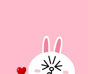 line, cony, and wallpaper image