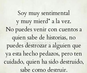 cuidado, mierda, and sentimental image