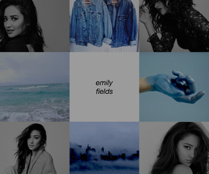 shay mitchell, emily fields, and pretty little liars image