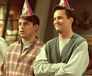 chandler, series, and friends image