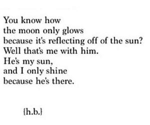 glows, him, and i image