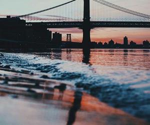 america, bridge, and cities image