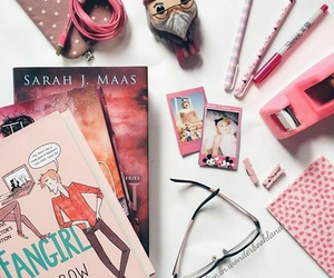bookish, books, and girly image