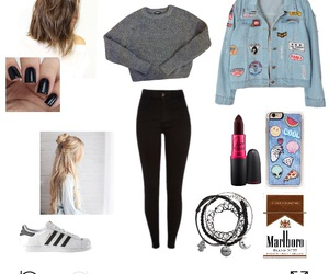 grunge and Polyvore image