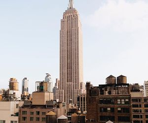 Dream, new york, and empire state building image