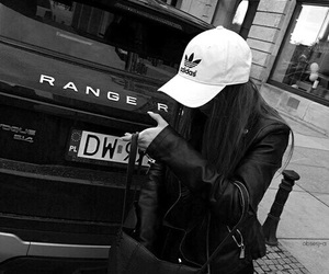 adidas, car, and black image
