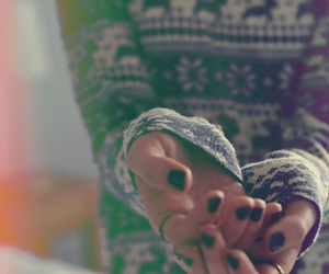 girl, nails, and photography image