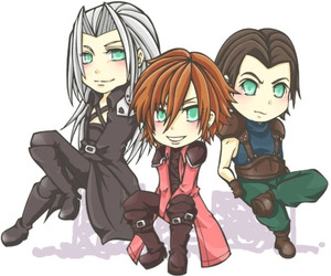 final fantasy VII, Sephiroth, and crisis core image