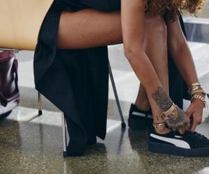 puma, rihanna, and tattoo image