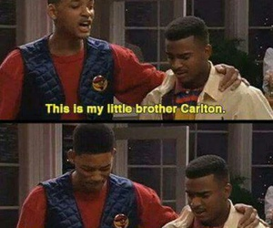funny, will smith, and carlton image