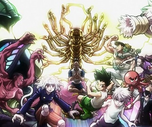 hunter x hunter, anime, and hxh image