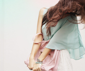 fashion, pastel, and girl image
