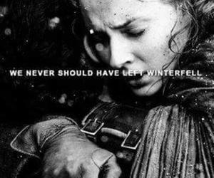 game of thrones, sansa stark, and jon snow image